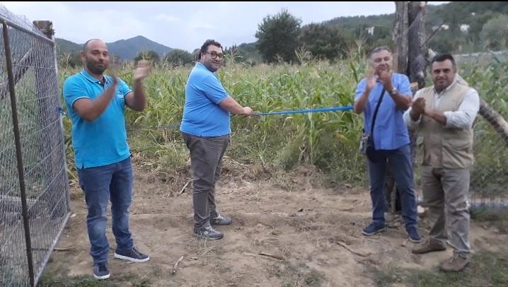 Inaugurazione recinto zrv La Montanina